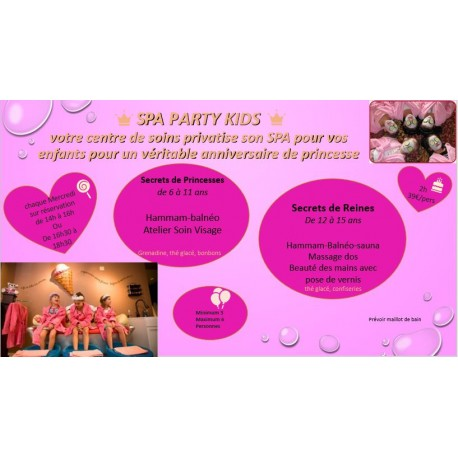 spa party kids